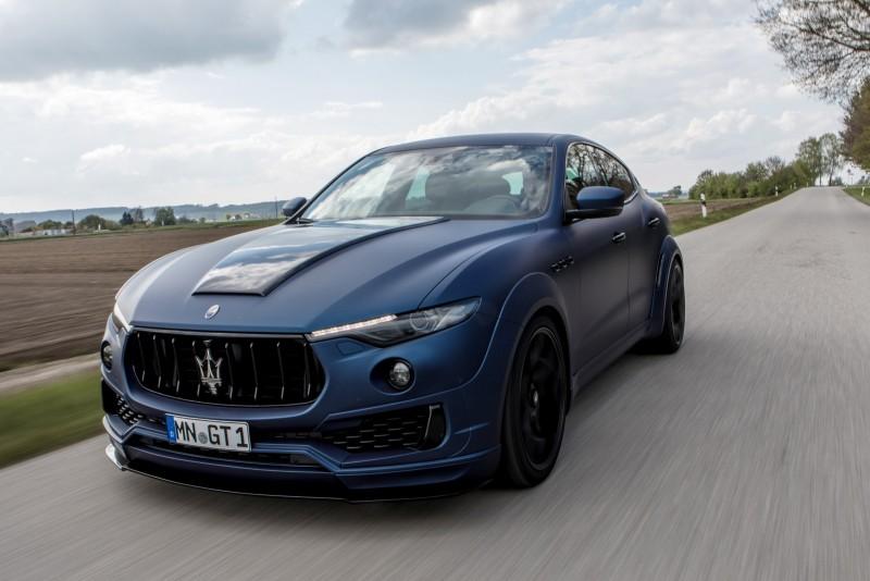 Maserati Ghibli Price >> Novitec Shows off Its New Wide-Body Kit for the Maserati ...