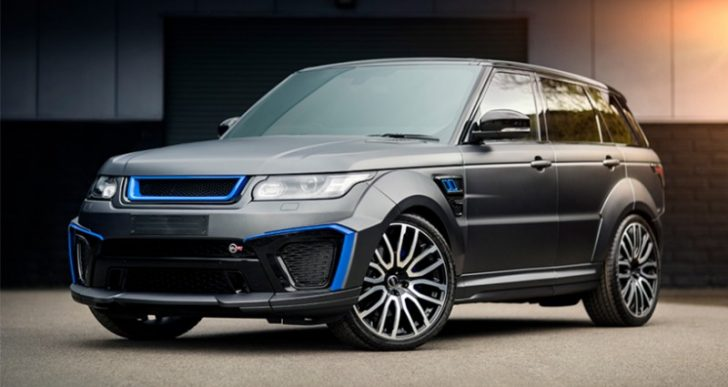 Performance and Luxury Combine in Project Kahn's Latest, a Range Rover Sport SVR Tuning