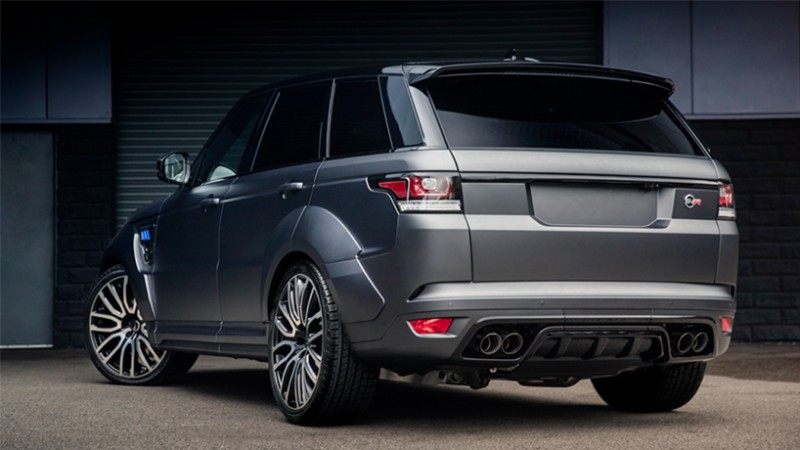 rover range svr sport land kahn v8 project supercharged performance tuning pace luxury combine latest tuner rear mouthful pains nothing