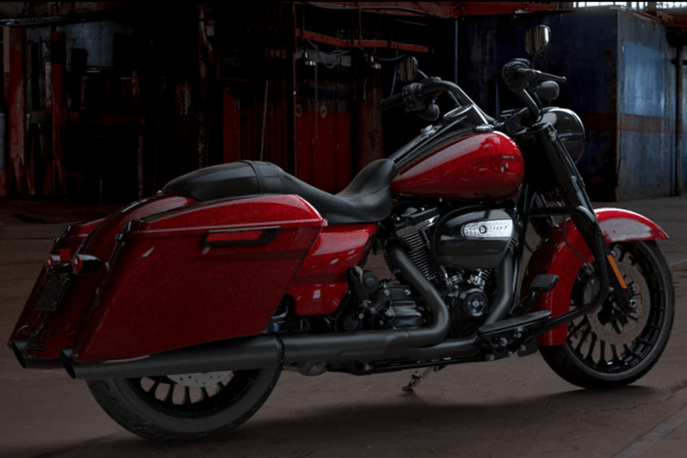 Harley Davidson Mirrored Pictures Motorcycles