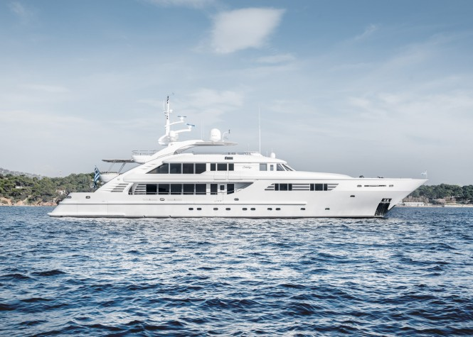 Superyacht Oasis Now Chartering in the Eastern Mediterranean for $163K a Week