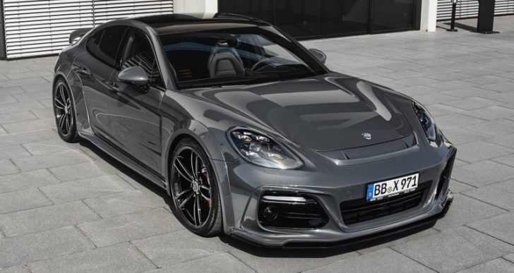 Take Your Porsche Panamera to the Next Level with Techart's Grand GT Conversion