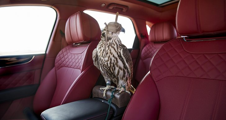 This Bentley Bentayga Is Built for Falconers