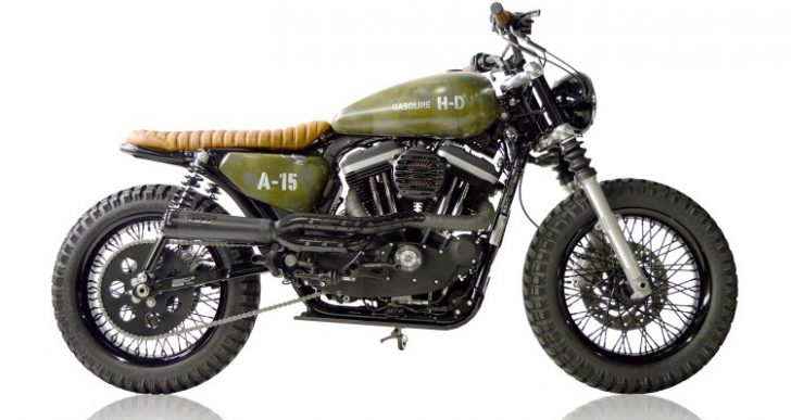 Heart of a Terrier: Gasoline Motor Co.'s Harley A-15 Scrambler
