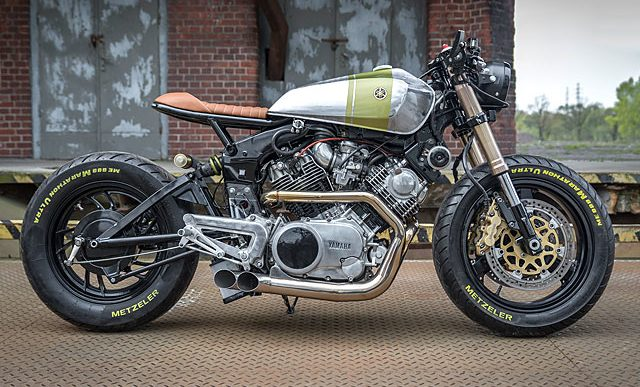 A Motorcycle Customizer Called Ugly Built this Yamaha XV920 Virago That's Anything But