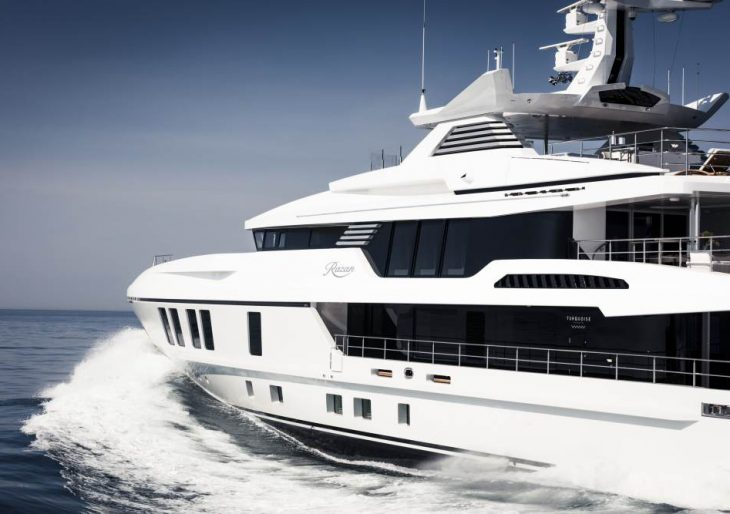 An Inside Look at the Stunningly Reimagined Razan Superyacht by Turquoise Yachts