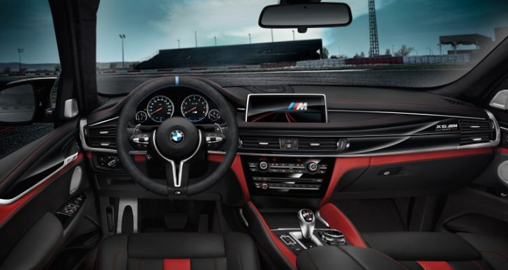 BMW Unveils the Motorsport-Inspired X5 M and X6 M Black Fire Editions