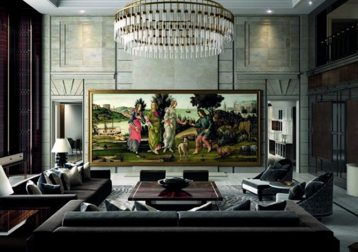 C Seed Teams up with Porsche Design on the Largest 4K Widescreen TV Ever