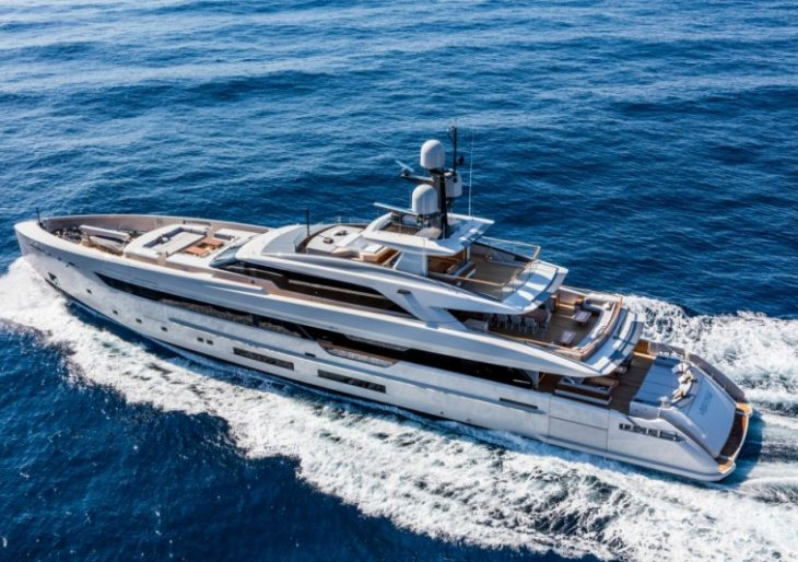 A Look at the Sleek 164-Foot Tankoa Vertige Superyacht