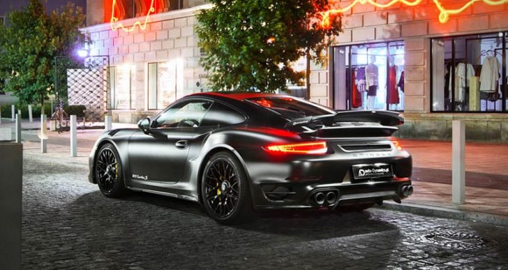 Like a Bat Out of Hell: Auto-Dynamics' 690-HP Porsche 911 Turbo S 'Dark Knight'
