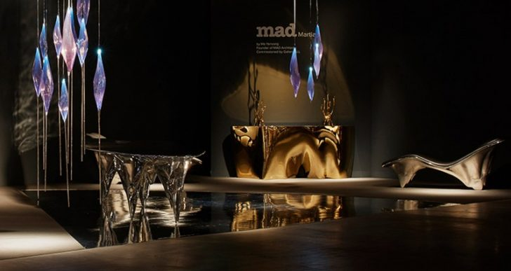 MAD Architects Envisions Life on Mars with Intriguing New Furniture Collection