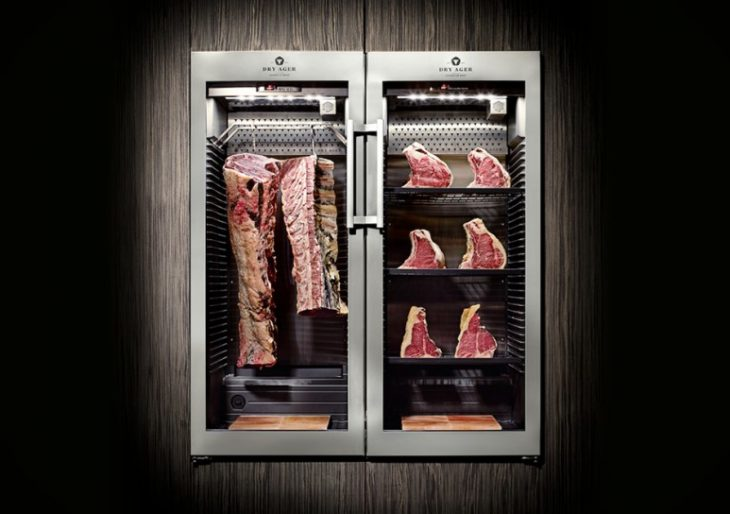 This $3K Dry Aging Fridge Allows for Steakhouse Quality at Home