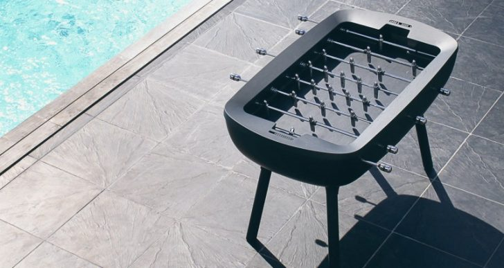 Debuchy by Toulet's 'Pure' Foosball Table Is a Playable Work of Art
