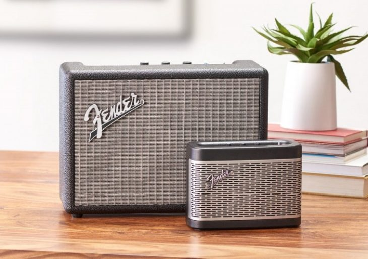 Fender Brings Its Audio Expertise to the Wireless World with Monterey and Newport Bluetooth Speakers