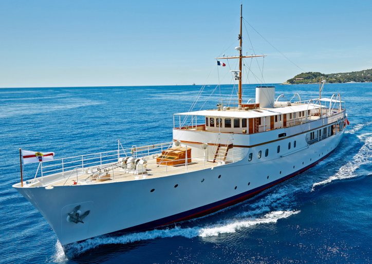 For a Historic Getaway, Charter the Gorgeously Refit 1937 'Malahne' Superyacht in the Adriatic for $160K a Week