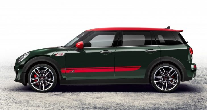 Mini Goes Max with the John Cooper Works Clubman ALL4