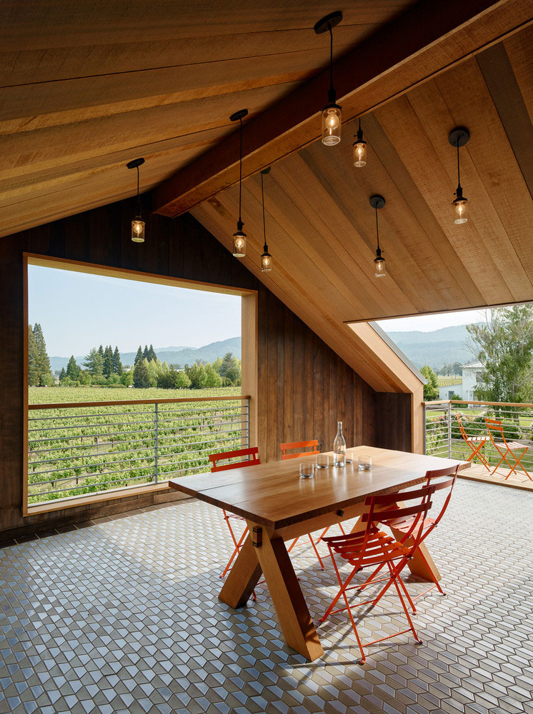 Napa barn in california by anderson architects american for Anderson architects