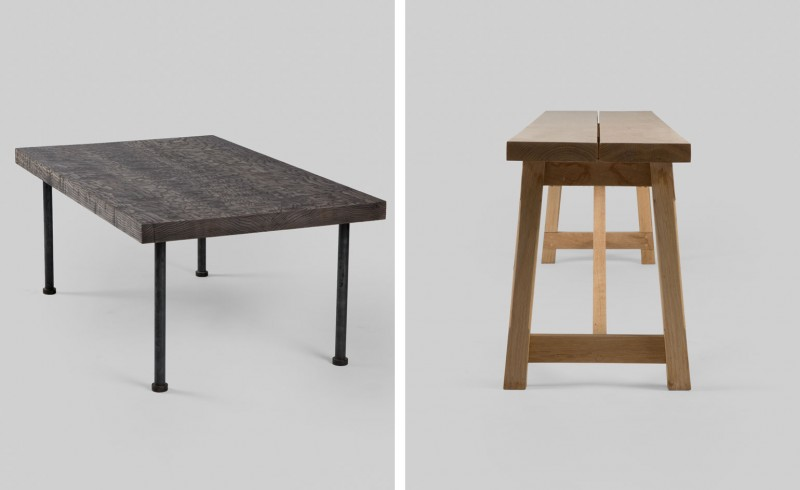 Sawkille Co's Modern Take on American Farmhouse Furniture Will Fit Your Hampt