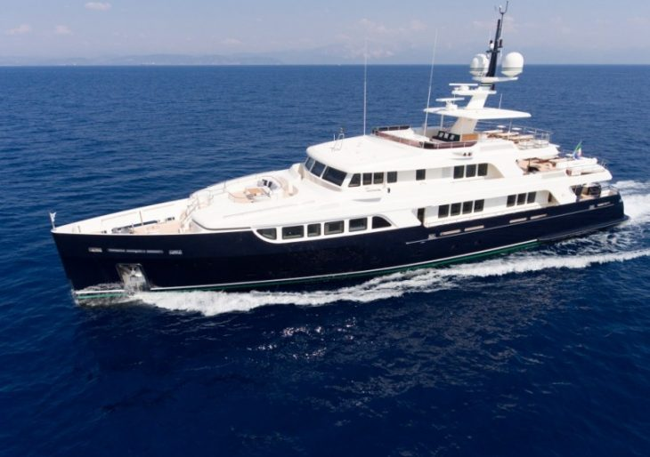 Timeless Style in a Cutting Edge Superyacht: Inside Codecasa's Gio Chi Thè
