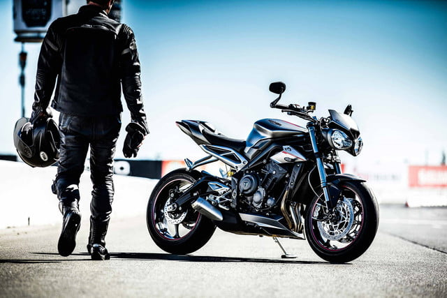 motorcycle family photo  Triumph Gives Its Street Triple Motorcycle Family a Bump in Engine ...