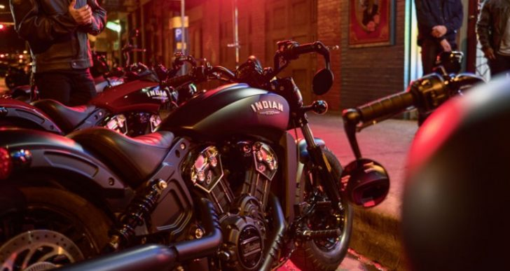 Urban Styling Is the Name of the Game with Indian's 2018 Scout Bobber