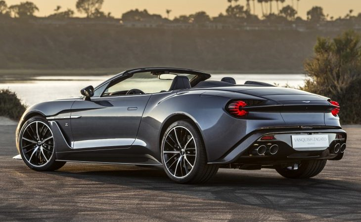 Aston Martin Adds To The Vanquish Zagato Lineup With Speedster - Aston martin lineup