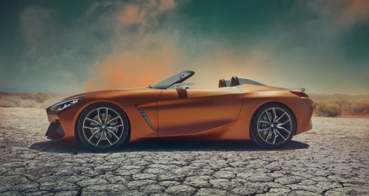 BMW Debuts a Low-Bodied Concept Z4 at Pebble Beach