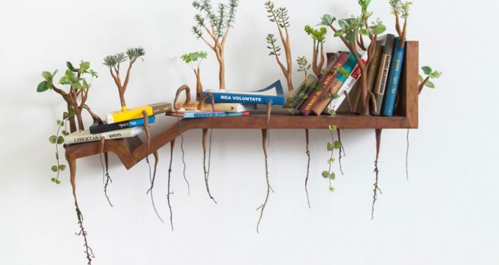 Camille Kachani's Overgrown Household Furniture Suggests Tenacity of Natural Process