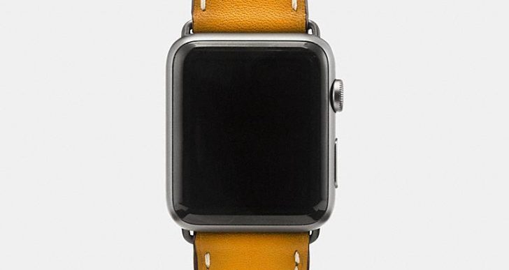 Coach Goes Whimsical With Its Fall Line of Apple Watch Bands