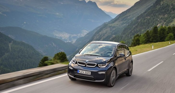 BMW's Hipster i3 Grows Up for 2018