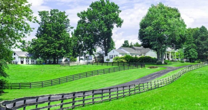 Johnny Depp's 41-Acre Horse Farm in Kentucky to Hit the Auction Block After Failing to Sell for $2.9M