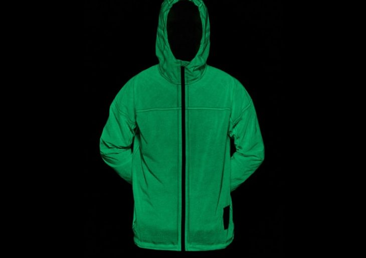 Night Joggers Will Flip Out Over Vollebak's High-Visibility, Solar-Charged Jacket