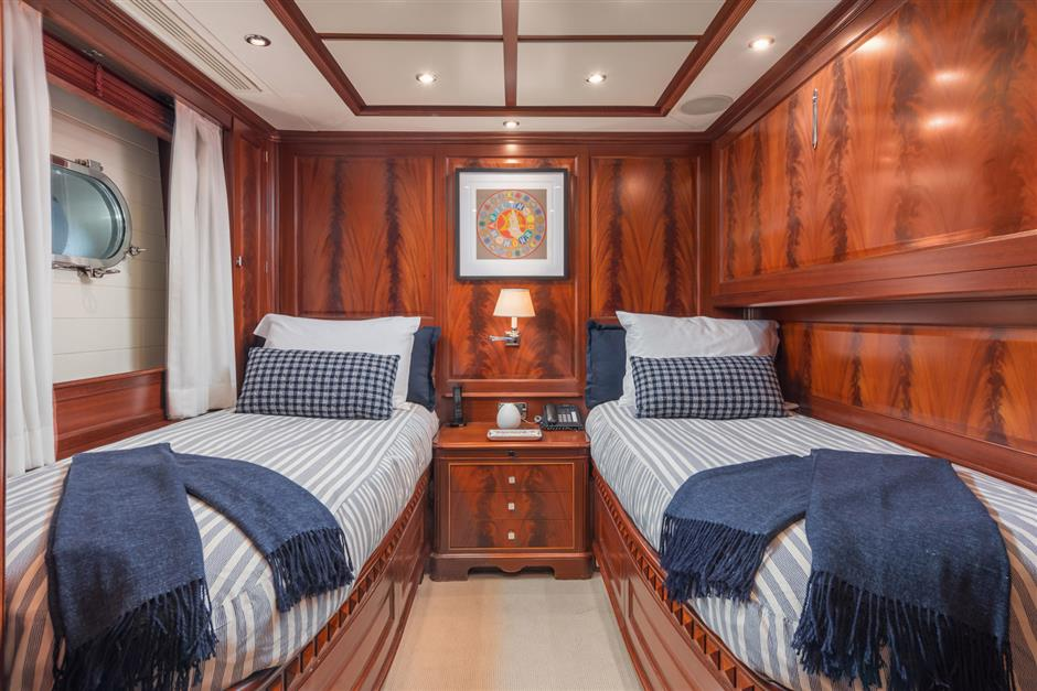 Recently Refit 120 Foot Andiamo Motor Yacht By Benetti