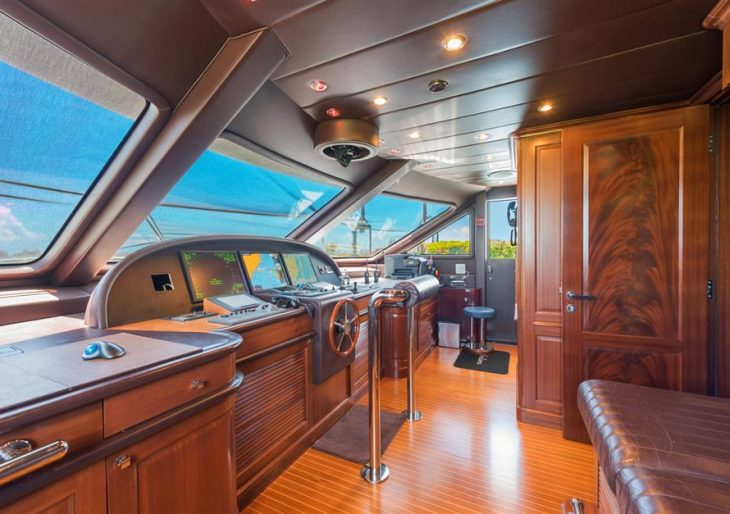 Recently Refit 120-Foot 'Andiamo' Motor Yacht by Benetti Looking for a Buyer at $7.5M