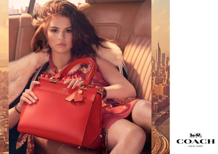 Selena Gomez Teams up with Coach on a Special Collection of Leather Goods and Accessories