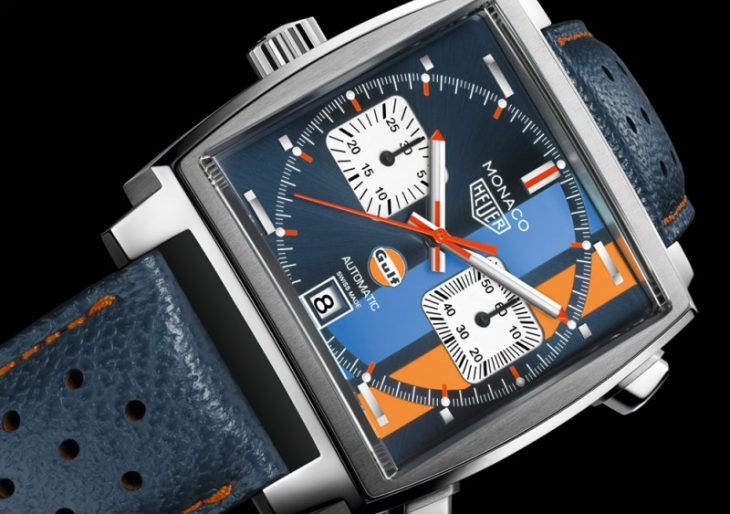 Steve McQueen Would Be Proud of TAG Heuer's Latest Throwback, the $5.9K Monaco Gulf Special Edition