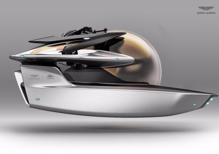 Aston Martin and Triton Collaborate on a Personal Submarine