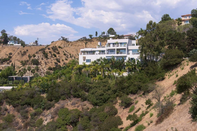 Ice T S Former Hollywood Hills Contemporary Of Mtv Cribs Fame