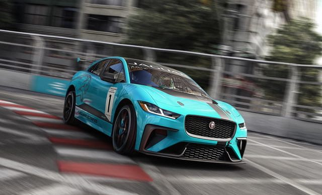 Jaguar Starts Its Own Production-Level Electric Racing Series in Advance of Forthcoming I-PACE SUV
