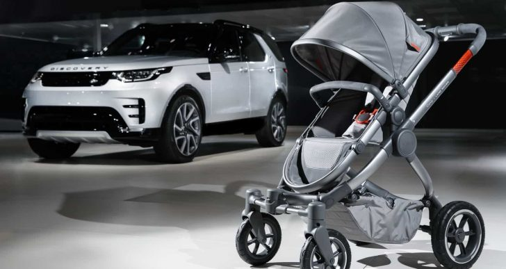 Land Rover Teams up with iCandy on $2K All-Terrain Stroller for the Adventurous Youngster