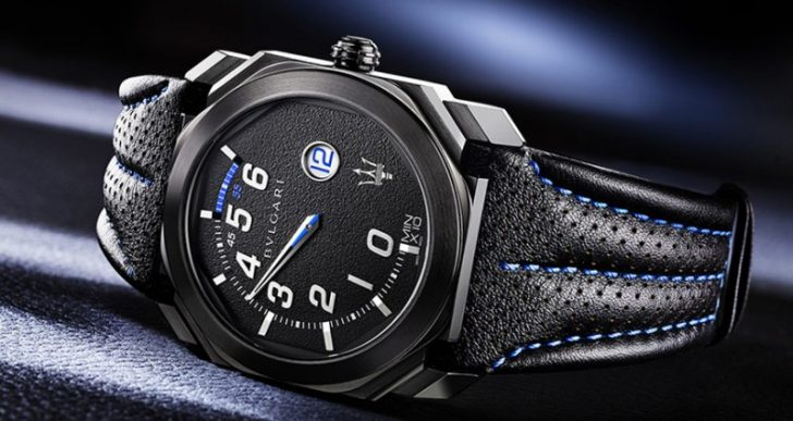 Maserati Teams up with Bulgari for Two New Watches, the $13K GranSport and the $31K GranLusso
