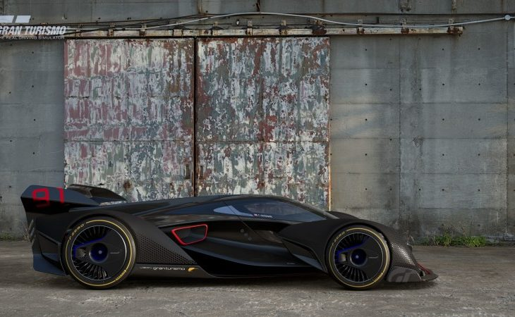 McLaren's Shape of Hypercars to Come: the 1,149-HP Ultimate Vision GT Gran Turismo