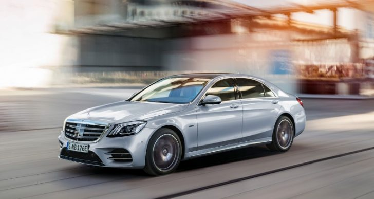 Mercedes-Benz Gives the S-Class a Jolt with Plug-in Hybrid S560e