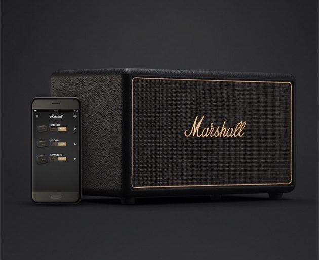 A Bluesbreaker in Every Room: Wireless Speakers from Iconic Amp-Maker Marshall