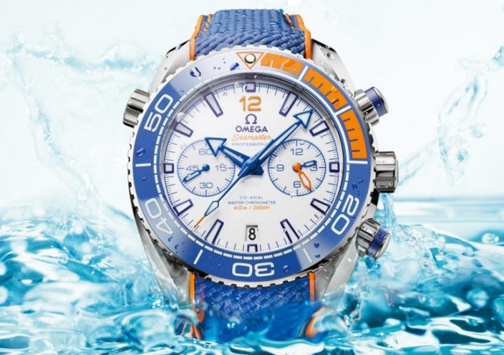 Omega Introduces the $9K Michael Phelps Edition Seamaster Planet Ocean