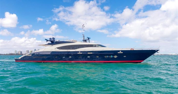 The Beautifully Refit, 120-Foot 'BW' Motor Yacht by Palmer Johnson for Sale with $5.6M Price Tag