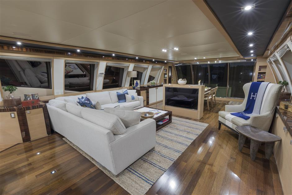 The Beautifully Refit 120 Foot Bw Motor Yacht By Palmer