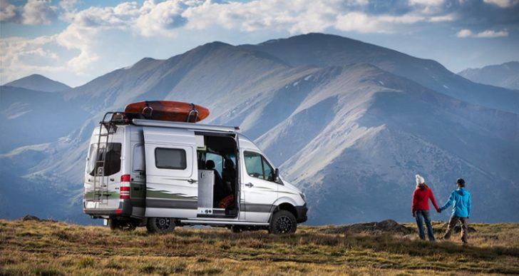 Winnebago's Mercedes-Benz-Based 'Revel' Camper Goes Where Normal Campers Can't