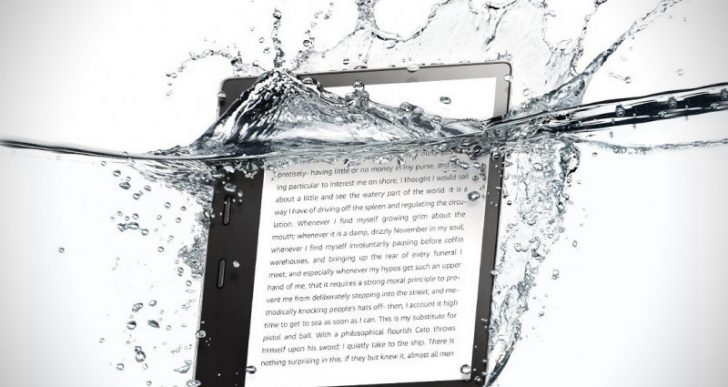 Amazon's New Waterproof Kindle Is Perfect for Beach Reads