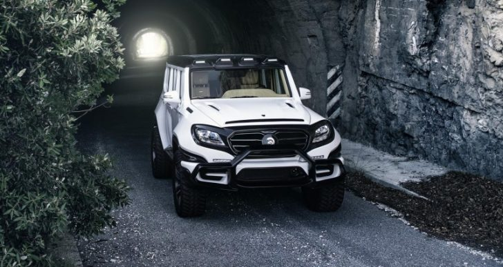 Ares Design, Founded by Former Lotus Head Danny Bahar, Takes the Veil off the 760-HP X-Raid SUV